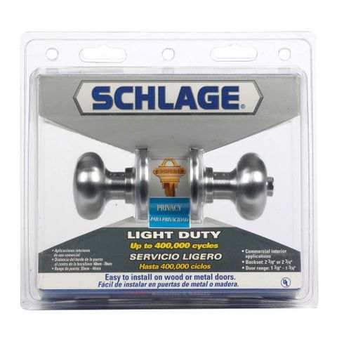 Schlage Plymouth Commercial Restroom Lock F40csvply626
