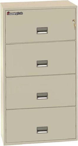 Sentry Safe 4L3010 4-Drawer Lateral Fire File 30 inch Width