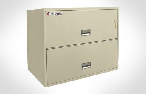 Sentry Safes 2L3610 Lateral 2-Drawer 36 Inch Wide Fire File Safe