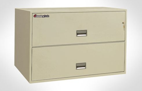 Sentry Safes 2L4310 Lateral 2-Drawer 43 Inch Wide Fire File Safe