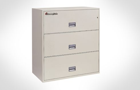 Sentry Safes 3L4310 Lateral 3-Drawer 43 Inch Wide Fire File Safe