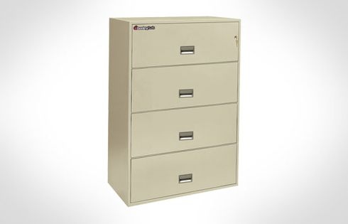 Sentry Safes 4L3610 Lateral 4-Drawer 36 Inch Wide Fire File Safe
