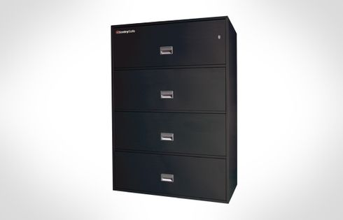 Sentry Safes 4L4300 Lateral 4-Drawer 43 Inch Wide Fire File Safe