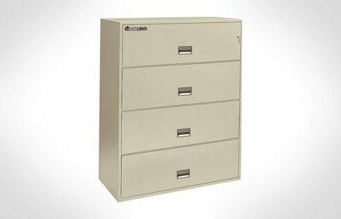 Sentry Safes 4L4310 Lateral 4-Drawer 43 Inch Wide Fire File Safe