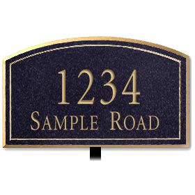 Signage 1420 Signature Series Small Arched Plaques
