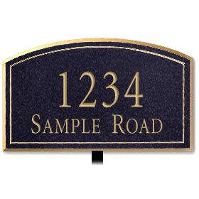Signage 1422 Signature Series Large Arched Plaques