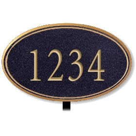 Signage 1430 Signature Series Small Oval Plaques