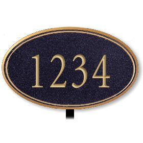 Signage 1432 Signature Series Large Oval Plaques