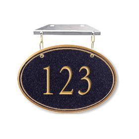 Signage 1435 Signature Series Small Oval Hanging Plaques