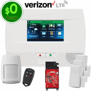 $0-Down Honeywell LYNX Touch L5210 Cellular Verizon LTE Wireless Security System