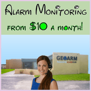 $10 Alarm Monitoring Services