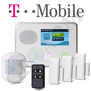 2GIG-TM-GSMKIT - CNTRL2 Cellular Wireless Security System (for T-Mobile Network)