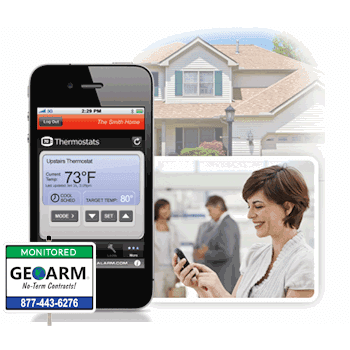 2GIG-Compatible Cellular LTE Alarm.com Home Monitoring Service (Powered by Alarm.com)