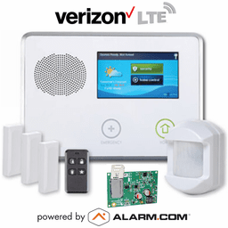 2GIG-GCKIT311 - GC2 Wireless Cellular Security System Kit (w/Verizon LTE Alarm.com Communicator)