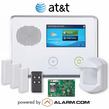 2GIG-GCKIT311 - GC2 Wireless Cellular Security System Kit (w/AT&T GSM Alarm.com Communicator)
