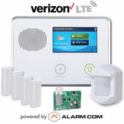 2GIG-GCKIT410 - GC2 Wireless Cellular Security System Kit (w/Verizon LTE Alarm.com Communicator)