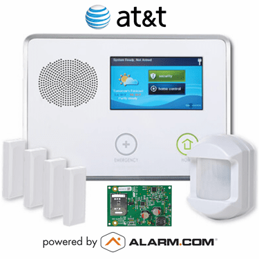 2GIG-GCKIT410 - GC2 Wireless Cellular Security System Kit (w/AT&T GSM Alarm.com Communicator)