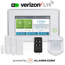 2GIG-KIT311 - GC3 Wireless Dual-Path Security System Kit (w/Verizon LTE Alarm.com Communicator)