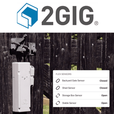2GIG Standalone Remote Property Sensor Cellular LTE Monitoring Services