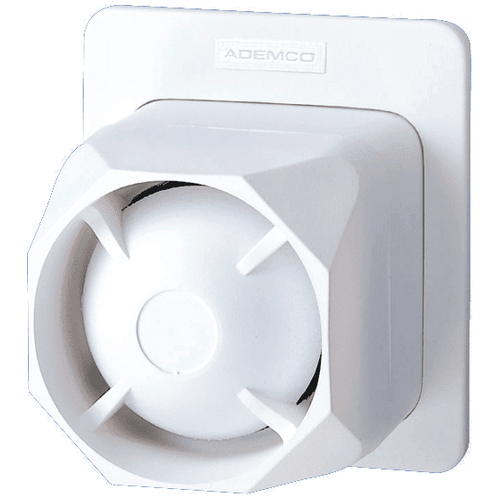 748 - Honeywell Hardwired Indoor/Outdoor Alarm Siren (Dual-Tone, Self-Contained)
