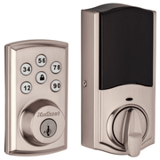 98880-004 - Kwikset SmartCode 888 Touchpad Door Deadbolt (w/Z-Wave Plus 500-Chipset in Satin Nickel Finish)