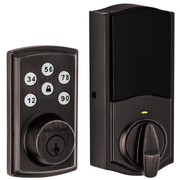 98880-005 - Kwikset SmartCode 888 Touchpad Door Deadbolt (w/Z-Wave Plus 500-Chipset in Venetian Bronze Finish)
