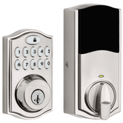 99140-023 - Kwikset SmartCode 914 Door Deadbolt (w/Z-Wave Plus 500-Chipset in Satin Nickel Finish)