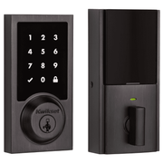 99160-017 - Kwikset SmartCode 916 Modern Contemporary Touchscreen Door Deadbolt (w/Z-Wave Plus 500-Chipset in Venetian Bronze Finish)