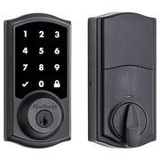 99160-021 - Kwikset SmartCode 916 Touchscreen Door Deadbolt (w/Z-Wave Plus 500-Chipset in Venetian Bronze Finish)