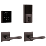 99540-002 - Kwikset Obsidian Touchscreen Door Deadbolt (w/Z-Wave Plus 500-Chipset in Venetian Bronze Finish)