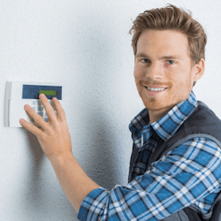 Licensed Alarm Contractors and Electricians