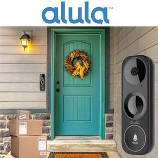 Alula Video Doorbell Camera Monitoring Services (Powered by Alula App)