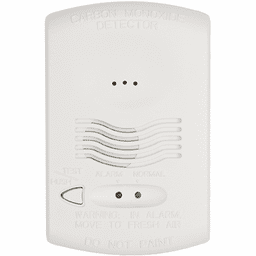 CO1224T - Honeywell System Sensor Hardwired Conventional 4-Wire 12/24-Volt Carbon Monoxide Detector (w/RealTest Technology)