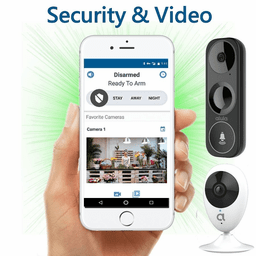 Alula DiY Dual-Path LTE Interactive Business Alarm Monitoring and Video Surveillance Service