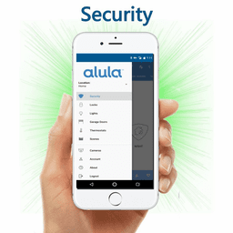 Alula DiY Dual-Path LTE Interactive Home Alarm Monitoring Service