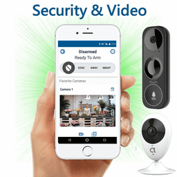Alula DiY WiFi Interactive Business Alarm Monitoring and Video Surveillance Service