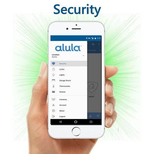 IpDatatel DiY WiFi Interactive Home Alarm Monitoring Service (Powered by Alula)