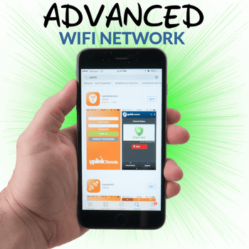 Uplink DiY Advanced WiFi Home Alarm Monitoring Service
