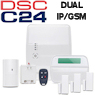 DSC Alexor Dual-Path Wireless Security System (Powered by Connect24)