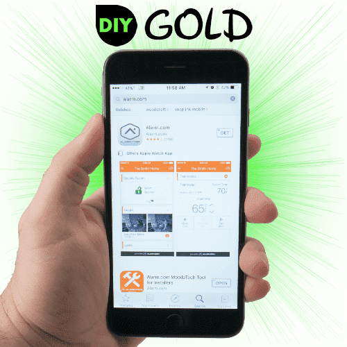 DSC DiY Gold Cellular Home Alarm Monitoring Service (Powered by Alarm.com)
