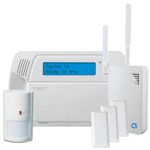 DSC Impassa Dual-Path IP/LTE Wireless Security System (Powered by Alula)