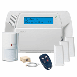 DSC Impassa Traditional TELCO Phone/VoIP-Line Wireless Security System