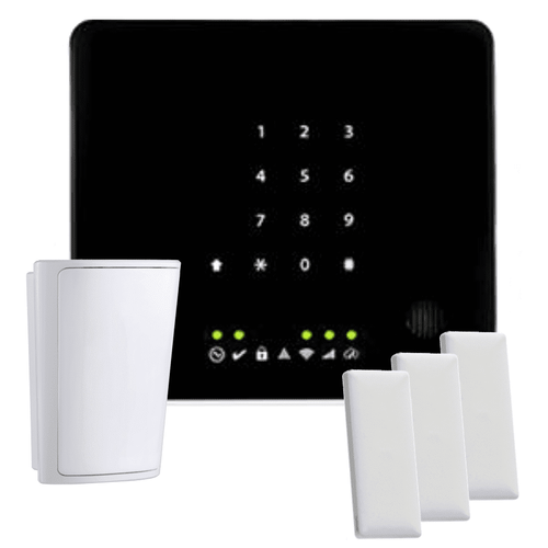 DSC Iotega Dual-Path Alarm.com Wireless Security System (for Verizon LTE Network)