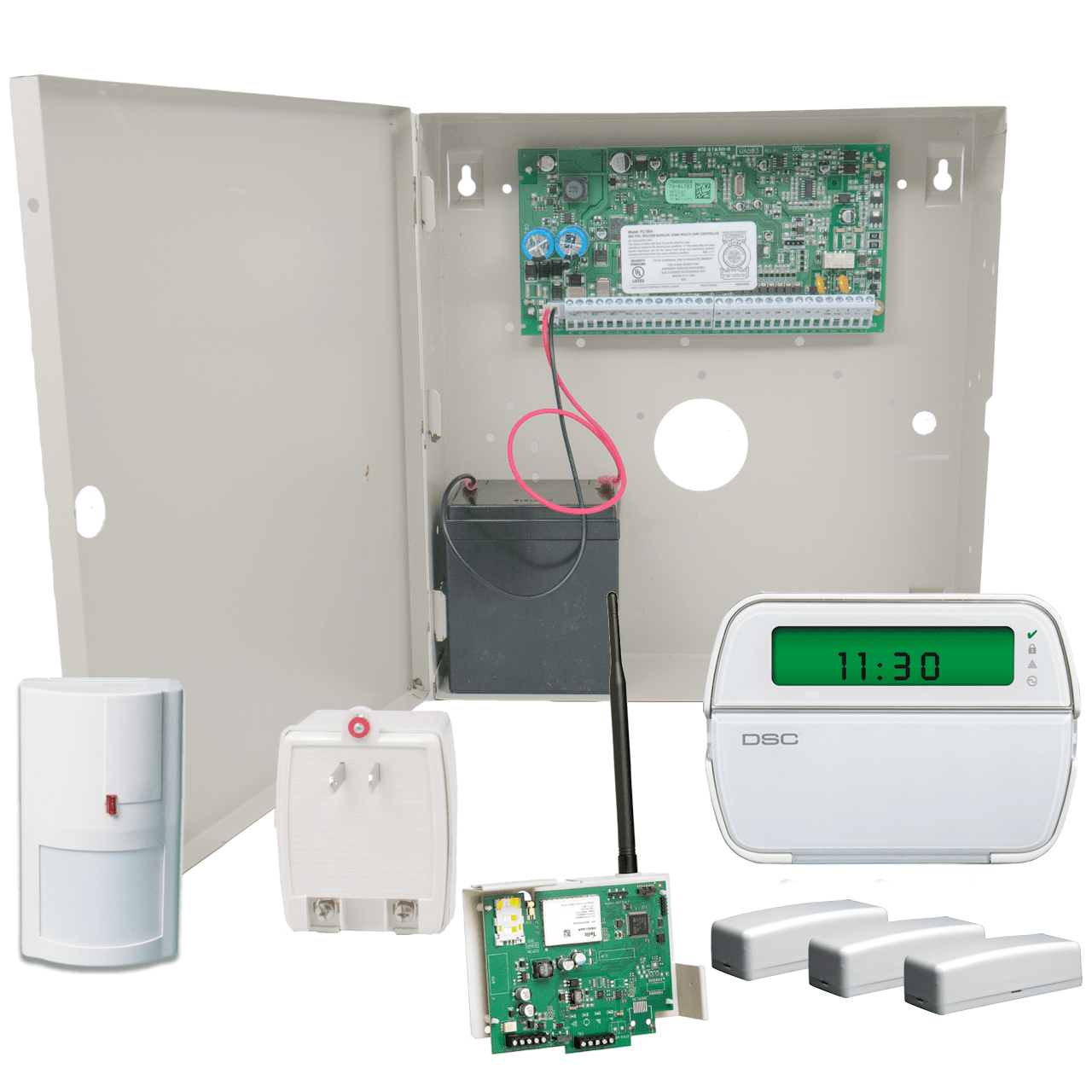 DSC PowerSeries PC1864 Connect24 Cellular GSM Hybrid Alarm System