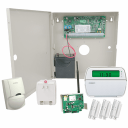 DSC PowerSeries PC1864 Connect24 Cellular Hardwired Security System (for GSM Network)