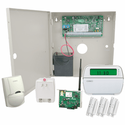 DSC PowerSeries PC1864 Connect24 Dual-Path Hardwired Security System (for IP/GSM Cellular Networks)