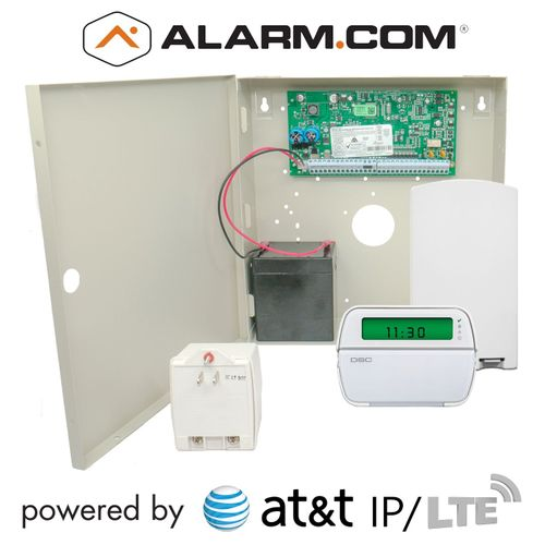 DSC PowerSeries PC1832 Dual-Path AT&T LTE Hybrid Security System (Powered by Alarm.com)