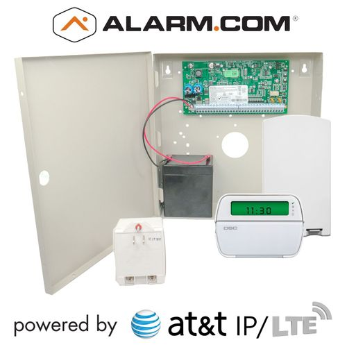 DSC PowerSeries PC1864  Dual-Path AT&T LTE Hybrid Security System (Powered by Alarm.com)