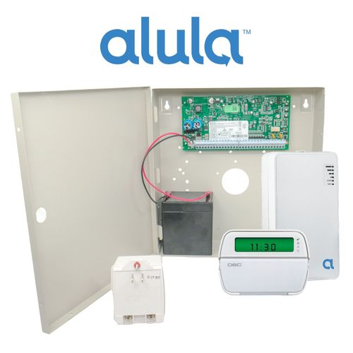 DSC PowerSeries PC1864 Broadband Internet Interactive Hardwired Security System (Powered by Alula)