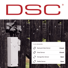 DSC Standalone Remote Property Sensor Cellular LTE Monitoring Services